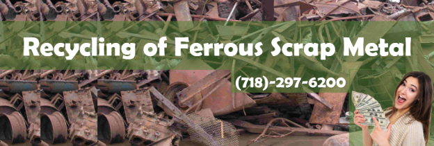 Recycling of Ferrous Scrap Metal attaches value to the metal