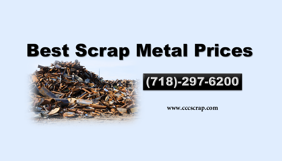 Scrap Metal Prices in Long Island are soaring